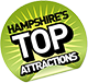 Hants top 100 logo