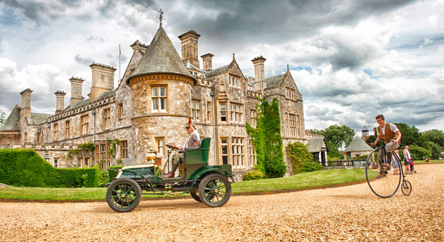 Palace House and living history at Beaulieu