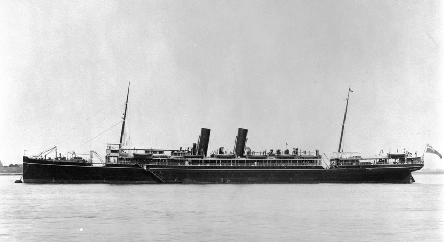 Historic photo of the SS Persia