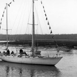 Gipsy Moth Returns To Buckler's Hard for 50th Anniversary Celebration