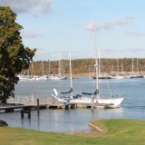 Gipsy Moth IV Returns Home To Buckler's Hard
