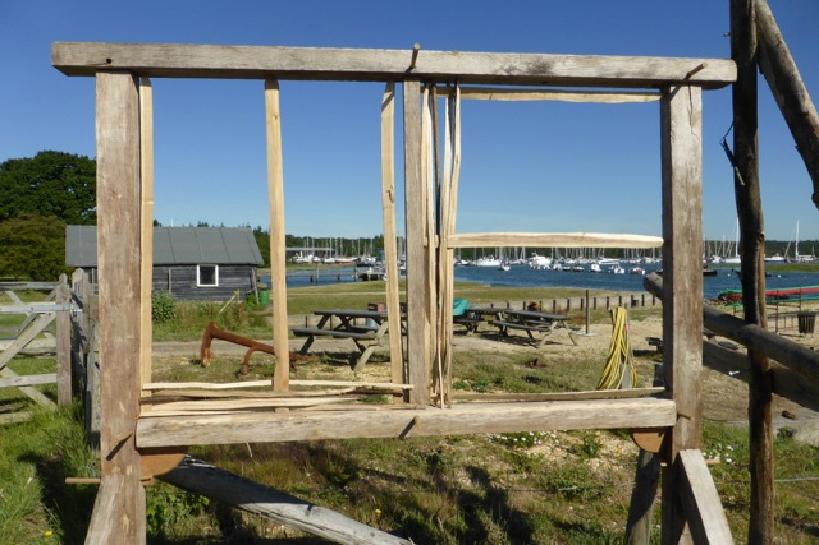 Wall Frame of Shipwright School