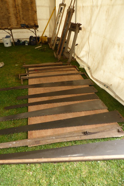 Hewing and sawing tools