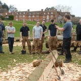 Shipwright School Blog - Timber Frame Apprentices Learn The Traditional Methods