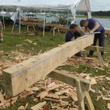 Shipwright School Blog - Timber Framing Courses Have Started