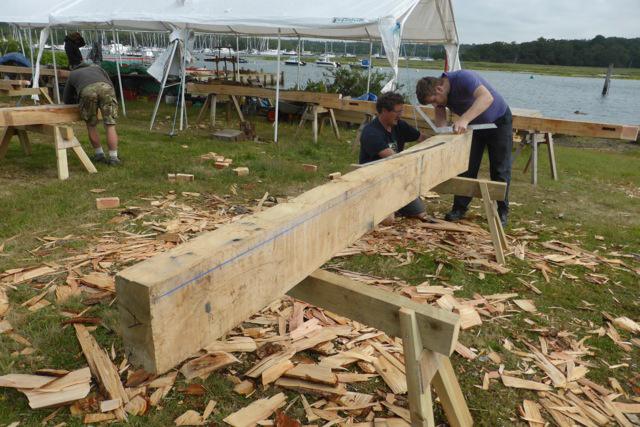 Timber Framing Courses Begin Shipwright School Blog