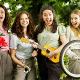 Handlebards cycling troupe brings Shakespeare to Buckler's Hard