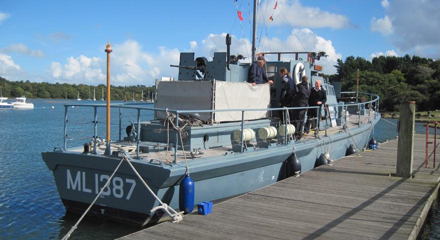 HMS Medusa at Buckler's Hard