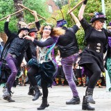 Shipwrightry and Morris dancing for May bank holiday