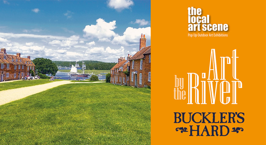 Art by the River - Pop Up Outdoor Art Exhibition at Buckler's Hard
