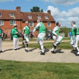 Soldiers & skirmishes, shipbuilding and art by the river  at Buckler's Hard during 2020