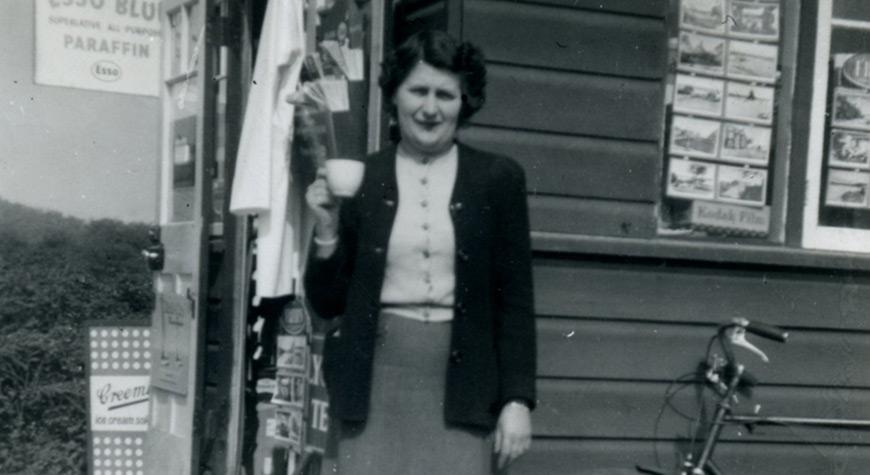 Mrs Rhonda Martin, Buckler's Hard shopkeeper