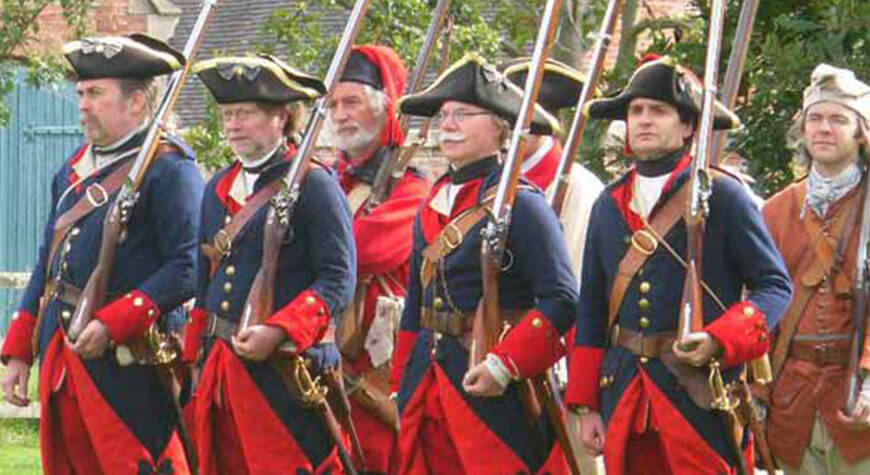 Soldiers & Skirmishes - New France & Old England drill