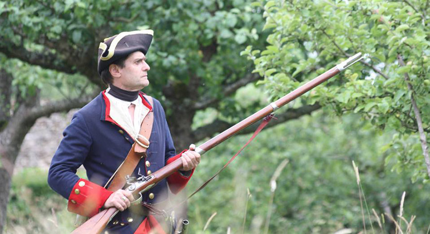 Soldiers & Skirmishes - New France & Old England re-enactor